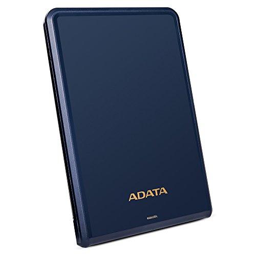 ADATA AHV620S-1TU3-CBL 1TB Schlank und Leicht USB 3.0 Externe Festplatte blau