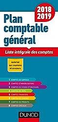 Plan comptable général 2018/2019 - 19e éd. - Liste intégrale des comptes