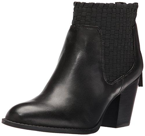 Jessica Simpson Frauen Yeni Runder Zeh Leder Fashion Stiefel Schwarz Groesse 6.5 US/37.5 EU