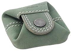 Idea Regalo - Gusti portamonete in pelle - Linus borsellino da uomo e da donna portamonete piccolo tuchese