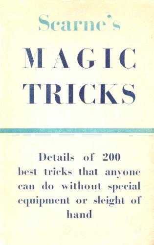 Scarne's Magic Tricks (English Edition)
