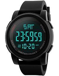 Addic Sports Digital Black Dial Men's Watch - SkmeiMW73A