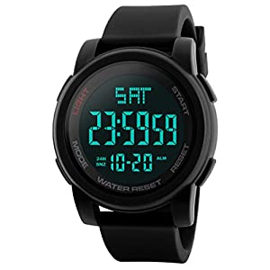 Addic Sports Digital Black Dial Men's Watch – SkmeiMW73A