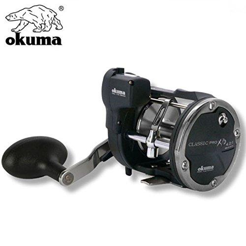 Okuma Classic Linecounter XPD- 30DLXA 2bb Linkshand Multirolle, Meeresrolle für Norwegen, Island, Dänemark, Nordsee, Ostsee, Angelrolle, Meeresangeln, Schnurfassung 420m 0.40mm