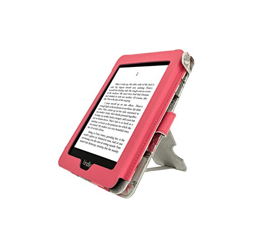 igadgitz-pink-on-cream-bi-view-textured-finish-pu-leather-case-cover-for-amazon-kindle-paperwhite-20