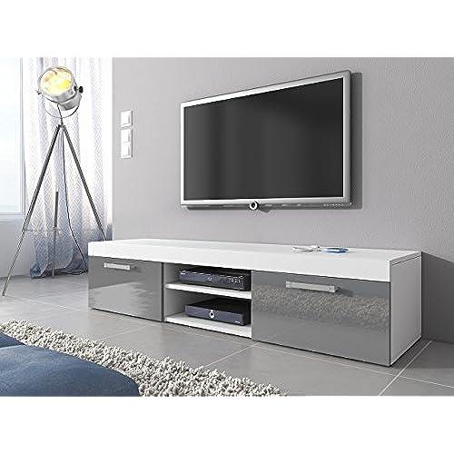 Amazon Uk: Grey TV Units: Amazon.co.uk