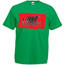 lepni.me T Shirts For Men Football Evolution - Albania
