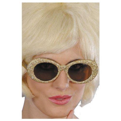 50's GOLD Fantastic Glitter Specs–Adult -