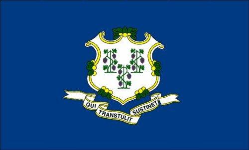 HOF Connecticut Nylonflaggen, für Außenbereiche