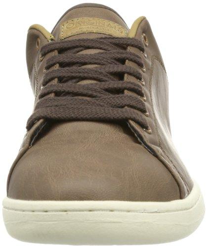 JACK & JONES Jj Brooklyn Pu Ji Org Herren Sneakers Braun (Slate Black)
