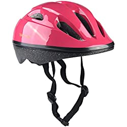 YIYUAN Kids Cycle Helmet for Bike Riding Safety,Poudre 02,S(52-56 cm)