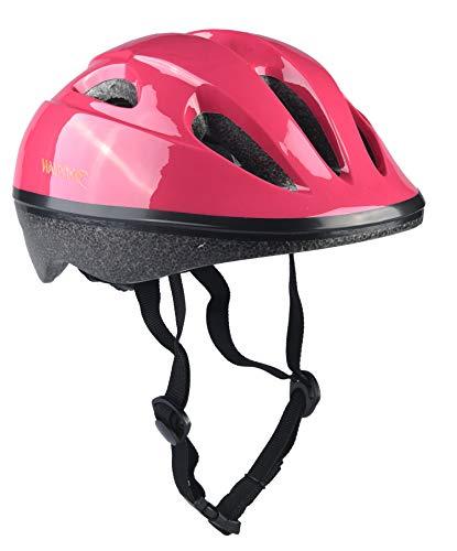 Yiyuan Kinder Fahrradhelm, Erwachsener Fahrrad-Sturzhelm-Fahrrad-Sturzhelm-Reithelm Road, Mountainbike Helm, Rosa, Blau und Weiss Farbe, S (52-46cm), Y-03 (Rosa)