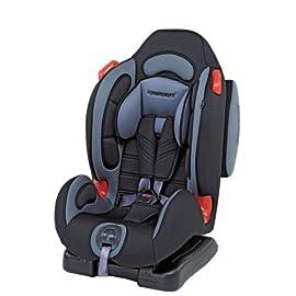 Foppapedretti Dinamyk 9-25 Seggiolino Auto,Grigio Antracite GRUPPO 1/2 (9-25 Kg) per bambini da 9 mesi a 6 anni circa