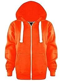 Veste orange fluo femme
