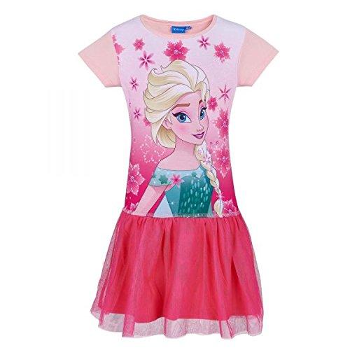 Disney Kostüm Anna Frozen - Disney Die Eiskönigin Elsa & Anna Mädchen Kleid - pink - 140