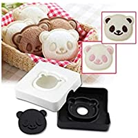Plat Firm 1 STÜCKE Nette Panda Form Lächeln Westlichen Snack Sandwich Kuchen Brotbackautomat Form Toast Box Formen DIY Cutter Handwerk