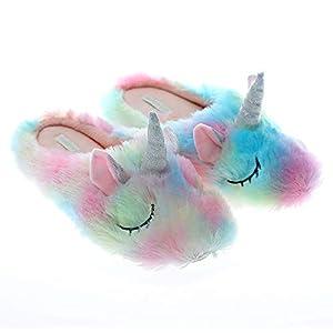 Zapatillas de unicornio de animales