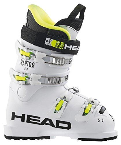 """HEAD Kids Skischuhe Raptor 50"""" Weiss (100) 23"""