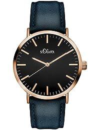 s.Oliver-Damen-Armbanduhr Analog Quarz SO-3202-LQ