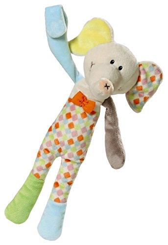 Nici 39706 Schnullertier Elefant Dundi, 32 cm
