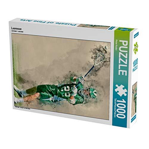 CALVENDO Puzzle Lacrosse 1000 Teile Lege-Größe 48 x 64 cm Foto-Puzzle Bild von Peter Roder