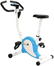 Onlineworld Fitness Exercise Bike Pedal Perfect Home Cycle Weight Loss For Men And Women (White/Blue)