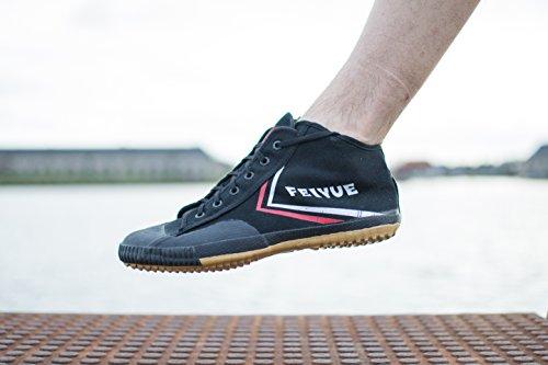 Feiyue - Zapatillas de artes marciales para hombre negro negro, color negro, talla 40