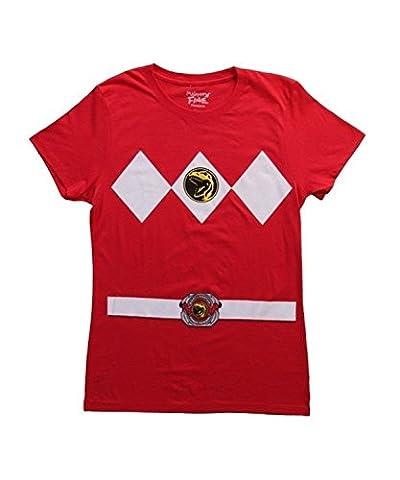 Powerrangers Jeune femme costume t-shirt
