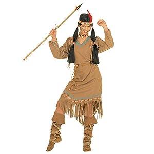 WIDMANN Cheyenne SQUAW FANCY DRESS SIZE XL (16/20 UK) (disfraz)
