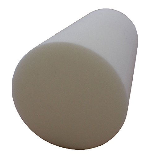 Preisvergleich Produktbild Zylinder Rolle FTM® Schaumstoff Schaum Polster Schaumgummi 60x25cm NEU