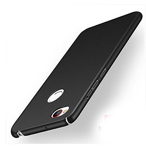 UKDANDANWEI ZTE nubia Z11 mini Hülle,extrem schlicht-dünn-Leichte PC handy Schutzhülle für ZTE nubia Z11 mini - Schwarz