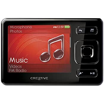 creative zen mx fm mp3 video player 8 gb mit radio. Black Bedroom Furniture Sets. Home Design Ideas