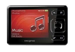 Creative ZEN MX FM MP3-/Video-Player 16 GB (FM-Radio, SD Slot) schwarz