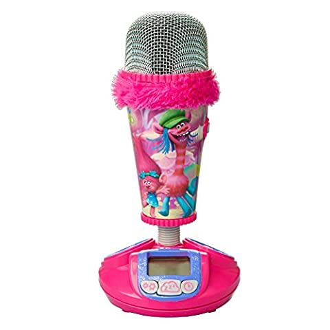 Trolls _ 866269 - Microphone et Réveil 2 en 1