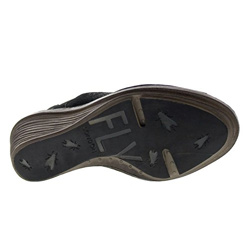 Fly London Womens Sian658Fly Leather Sandals Black