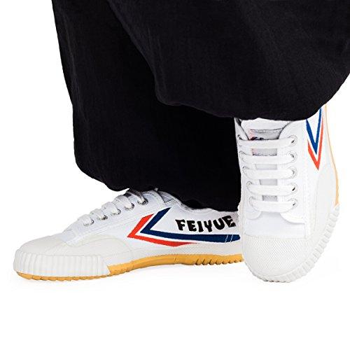Wu Designs Feiyue– scarpeminimalper arti marziali,Wushu bianco