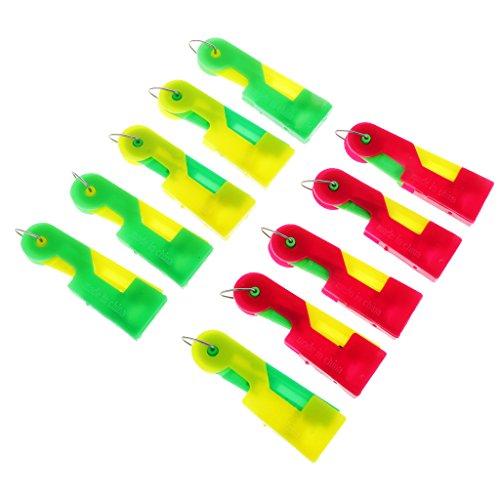 Blesiya 10x macchinetta infila aghi infila ago automatico easy stitch guida strumenti di cucito