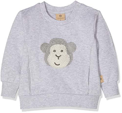 Bellybutton mother nature & me Baby-Jungen Sweatshirt 1/1 Arm, Grau (Morning Grey|Gray 8432), 86