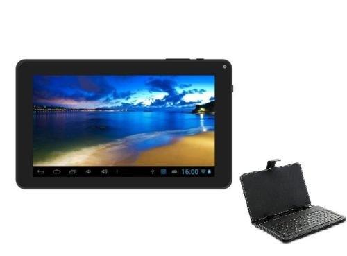 Preisvergleich Produktbild 10'' ZOLL QUAD CORE HD 16GB TABLET PC ANDROID 4.4 KITKAT WIFI BT 3G WLAN USB SD KAMERA + Tasche + Tastatur