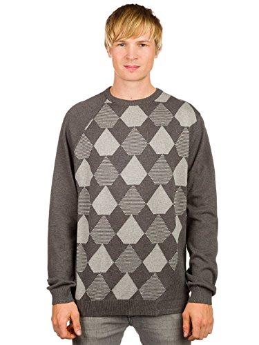 Volcom Herren Pullover Understated Ii Mix Sweater Slate