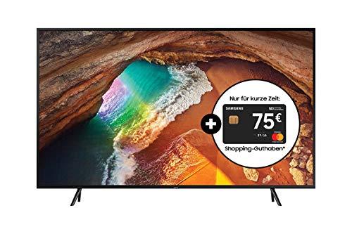 Samsung Q60R 138 cm (55 Zoll) 4K QLED Fernseher (Q HDR, Ultra HD, HDR, Twin Tuner, Smart TV) [2019]