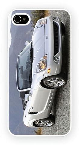 Toyota MR2 Spyder silver, Samsung Galaxie S6 EDGE cas, Etui de téléphone mobile - encre brillant impression