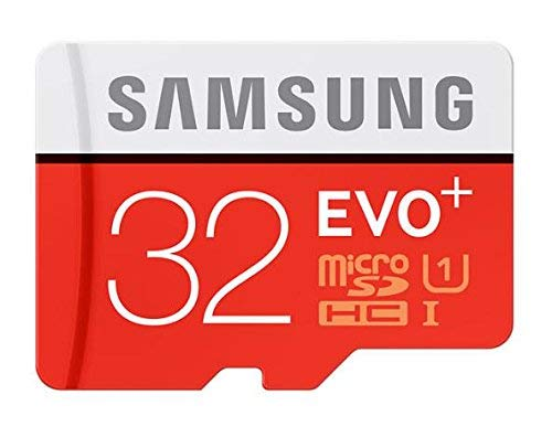 OceanSky Store Samsung EVO Plus 32 GB Micro SDHC Class 10 Up to 95 MB/s Memory Card with SD Adapter