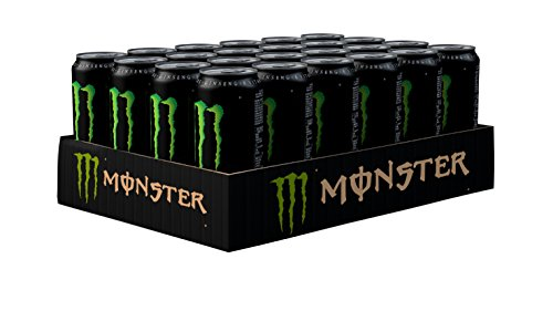 Monster Energy Drink Can 500 ml (Pack of 24)