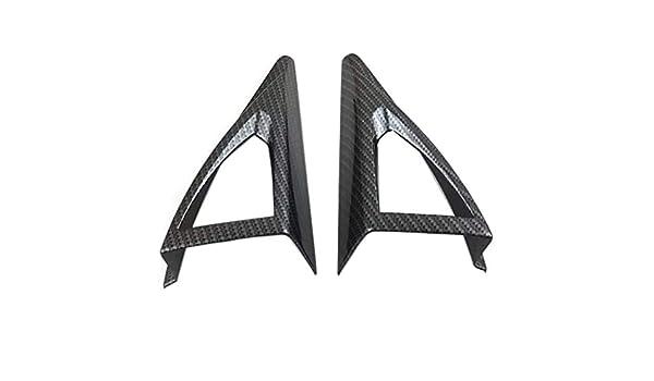 Semoic Anteriore Un Pilastro Altoparlante Altoparlante Un Tromba Copertura Autoadesivo Cornice degli Accessori Interni ABS per 3008 GT 2017 2018