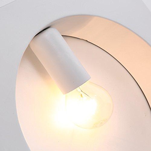 BLYC- Semplice/ristoranti/parete applique/creativo/cafe/bar/decorativi in ferro battuto applique da parete lampada/il salotto/E27 , round white