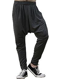 Homme Elégant Hip Hop Confort Grand Pantalon Bouffant Eccrx