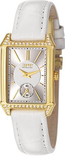 ESPRIT Collection Damen-Armbanduhr Analog Quarz Leder EL101992F05