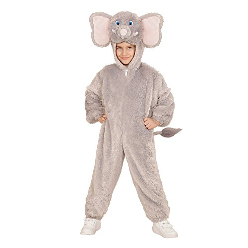 Imagen de widmann 98102infantil disfraz elefante de peluche, mono con capucha y máscara alternativa