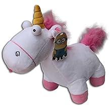Unicornio Blandito 25cm Peluche Agnes Minion Feria Gru Mi Villano Favorito Pelicula Super Soft Suave